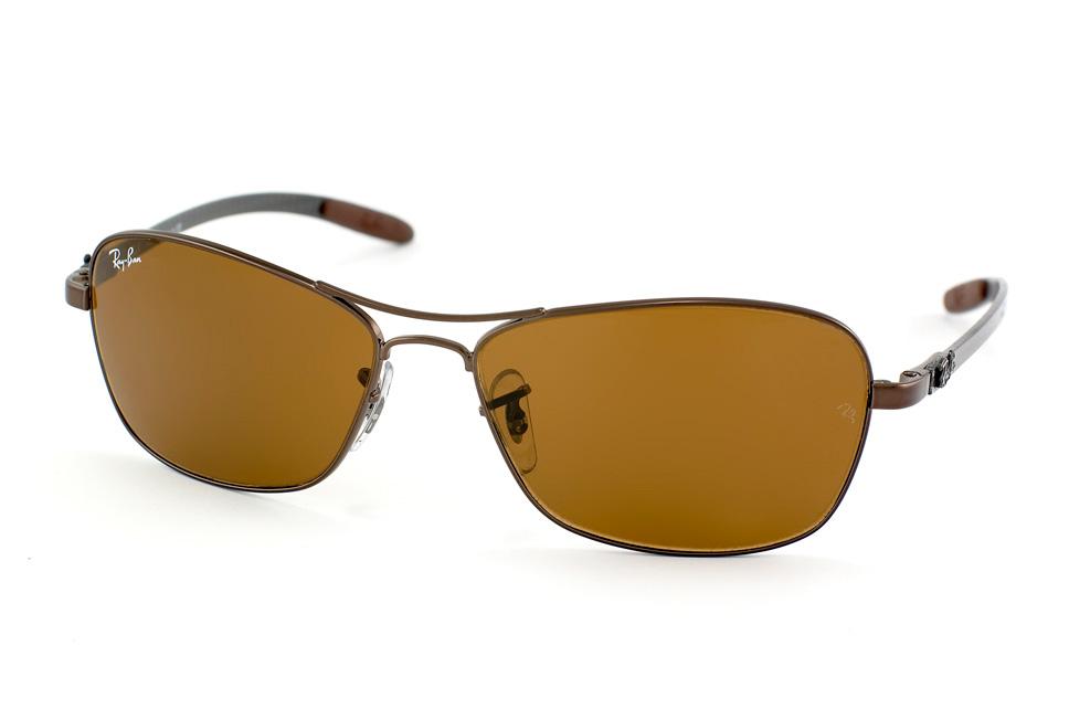409c663d2c7 Ray Ban RB2132 Wayfarer Sunglasses Red Frame Crystal Green Polar ...