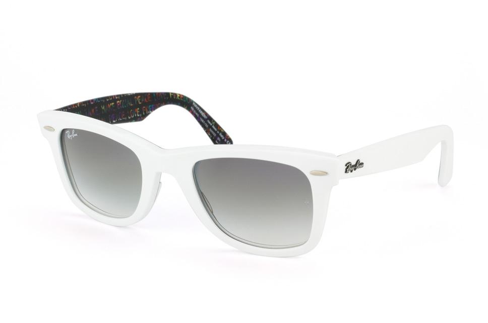 ray ban sonnenbrille wayfarer weiß