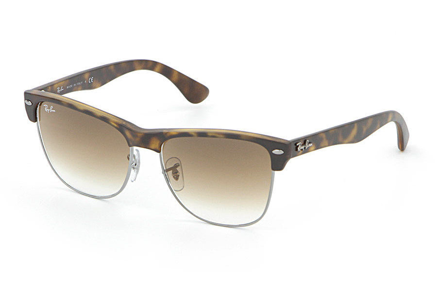 052ba6fb06af4 Ray Ban Oversized Clubmaster Black   www.labucketbrigade.org. Sunglasses Ray -Ban Clubmaster Oversized RB 4175 878 M2 Polarized Matte Havana Brown