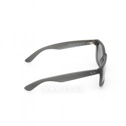 Очки Ray-Ban Justin RB4165-852-88 Rubber Grey Transparent | Grey Silver Mirror 36