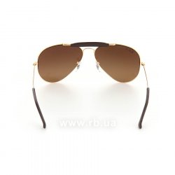 Очки Ray-Ban Craft Outdoorsman RB3422Q-001-M7 Arista | Polar Brown Gradient P3 Plus, вид сзади