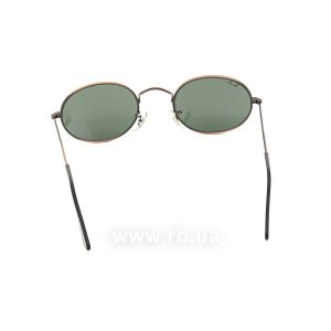 Очки Ray-Ban Bausch and Lomb Oval RBBL-W0969 Antique Bronze | Natural Green (G-15XLT), вид сзади