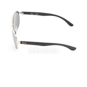 Очки Ray-Ban Active Lifestyle RB3457-019-6G Matt Silver | APX Grey Mirror , вид слева