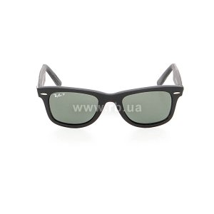 Очки Ray-Ban Original Wayfarer Urban Camouflage RB2140-6066-58 Rubber Grey/Black | Natural Green Polarized, вид спереди