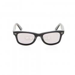 Очки Ray-Ban Original Wayfarer Special Series RB2140-901S-P2 Matt Black | Crystal Grey Polarized, вид спереди