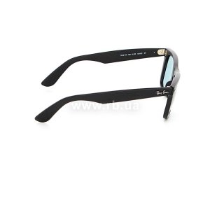 Очки Ray-Ban Original Wayfarer Special Series RB2140-901S-3R Matte Black | Crystal Blue Polarized, вид справа