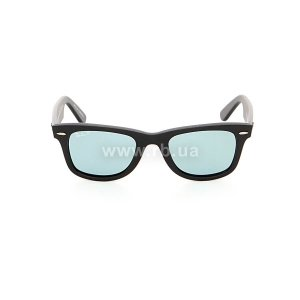 Очки Ray-Ban Original Wayfarer Special Series RB2140-901S-3R Matte Black | Crystal Blue Polarized, вид спереди