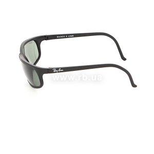 Очки Ray-Ban Bausch and Lomb Cats Predator Series RBBL-CATS-PS Matt Black | Natural Green (G-15XLT), вид слева