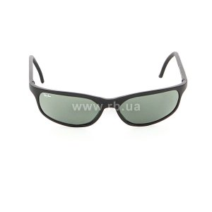 Очки Ray-Ban Bausch and Lomb Cats Predator Series RBBL-CATS-PS Matt Black | Natural Green (G-15XLT), вид спереди