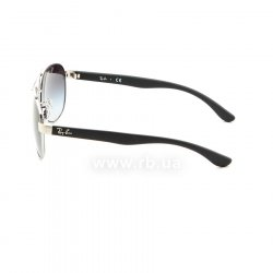 Очки Ray-Ban Active Lifestyle RB3457-134-8G Silver / Black | Gradient Grey 12
