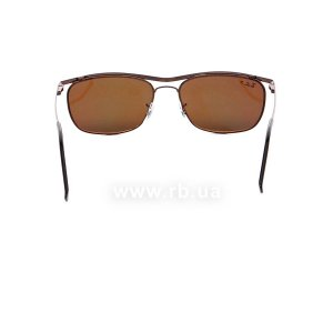 Очки Ray-Ban Olympian II Deluxe RB3385-014-57 Brown | Natural Brown Polarized, вид сзади