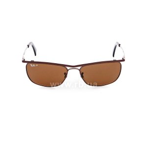 Очки Ray-Ban Olympian II Deluxe RB3385-014-57 Brown | Natural Brown Polarized, вид спереди