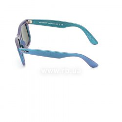 Очки Ray-Ban Original Wayfarer Cosmo RB2140-6113-30 Blue/Purple | Light Blue Mirror 12