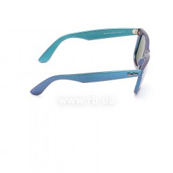 Очки Ray-Ban Original Wayfarer Cosmo RB2140-6113-30 Blue/Purple | Light Blue Mirror 36