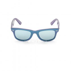 Очки Ray-Ban Original Wayfarer Cosmo RB2140-6113-30 Blue/Purple | Light Blue Mirror 48