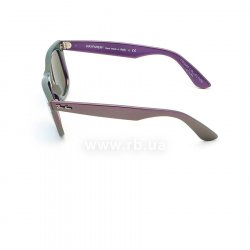 Очки Ray-Ban Original Wayfarer Cosmo RB2140-6112-17 Green/Purple | Blue Mirror 12