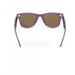 Очки Ray-Ban Original Wayfarer Cosmo RB2140-6112-17 Green/Purple | Blue Mirror 24