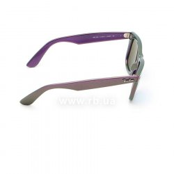 Очки Ray-Ban Original Wayfarer Cosmo RB2140-6112-17 Green/Purple | Blue Mirror 36
