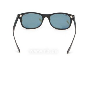 Очки Ray-Ban Liteforce New Wayfarer RB4207-601S-9A Matt Black | APX Grey/Green Polarized, вид сзади