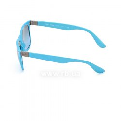 Очки Ray-Ban Liteforce Wayfarer RB4195-6084-8F Light Blue | Gradient Grey, вид слева