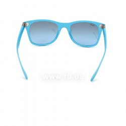 Очки Ray-Ban Liteforce Wayfarer RB4195-6084-8F Light Blue | Gradient Grey, вид сзади