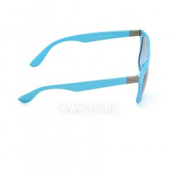 Очки Ray-Ban Liteforce Wayfarer RB4195-6084-8F Light Blue | Gradient Grey, вид справа