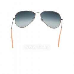 Очки Ray-Ban Aviator Large Metal RB3025-029-71 Matte Gunmetal | Grey/Green 24
