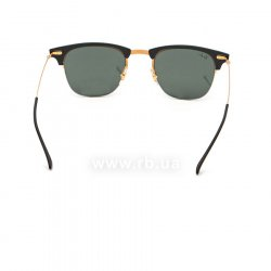 Очки Ray-Ban Clubmaster LightRay RB8056-157-71 Black /Arista | Grey/Green 24