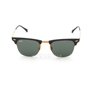 Очки Ray-Ban Clubmaster LightRay RB8056-157-71 Black /Arista | Grey/Green, вид спереди