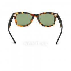 Очки Ray-Ban Original Wayfarer Fleck Asian Fit RB2140F-1159-4E Havana/ Black | Natural Green 24