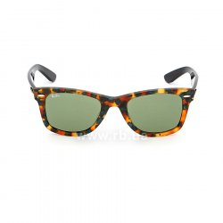 Очки Ray-Ban Original Wayfarer Fleck Asian Fit RB2140F-1159-4E Havana/ Black | Natural Green 48