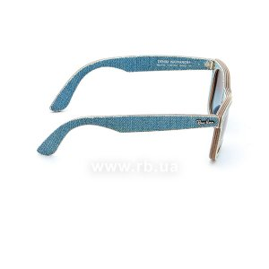Очки Ray-Ban Original Wayfarer Denim RB2140-1164-4M Jeans Blue| Blue Gradient, вид справа