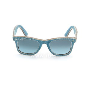 Очки Ray-Ban Original Wayfarer Denim RB2140-1164-4M Jeans Blue| Blue Gradient, вид спереди