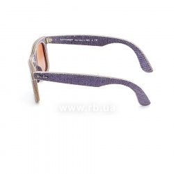 Очки Ray-Ban Original Wayfarer Denim RB2140-1167-S5 Jeans Violet | Gradient Violet mirror 12