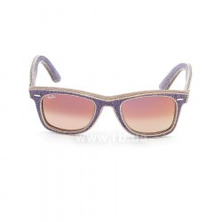 Очки Ray-Ban Original Wayfarer Denim RB2140-1167-S5 Jeans Violet | Gradient Violet mirror 48
