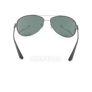 Очки Ray-Ban Active Lifestyle RB3526-029-71 Matt Gunmetal | Grey/Green, вид сзади