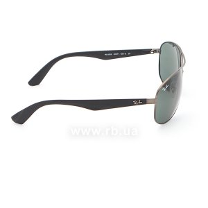 Очки Ray-Ban Active Lifestyle RB3526-029-71 Matt Gunmetal | Grey/Green, вид справа