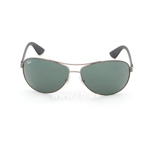 Очки Ray-Ban Active Lifestyle RB3526-029-71 Matt Gunmetal | Grey/Green, вид спереди