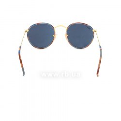 Очки Ray-Ban Round Metal Camouflage RB3447JM-170-R5 Arista/ Brown/White Camouflage |  Blue 24