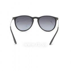 Очки Ray-Ban Erika RB4171-622-8G Black Rubber/Poly. Gradient Grey 24