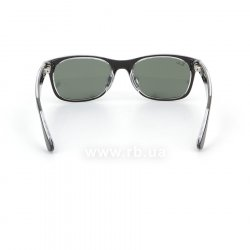 Очки Ray-Ban New Wayfarer Color Mix Asian Fit RB2132F-6052 Matt Black On Crystal | Natural Green (G-15XLT) 24