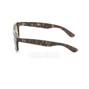 Очки Ray-Ban New Wayfarer RB2132-710-51 Shiny Avana/Faded Brown, вид слева