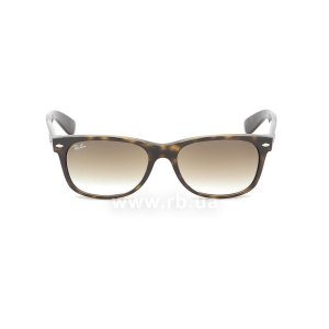 Очки Ray-Ban New Wayfarer RB2132-710-51 Shiny Avana/Faded Brown, вид спереди