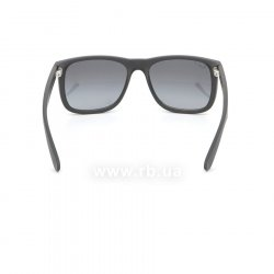 Очки Ray-Ban Justin RB4165-622-T3 Matt Black | Gradient Grey Polarized 24