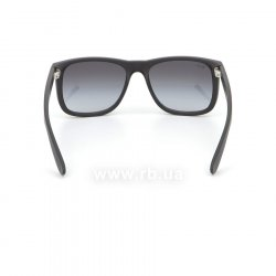 Очки Ray-Ban Justin RB4165-601-8G Black Rubber/APX Gradient Grey 24