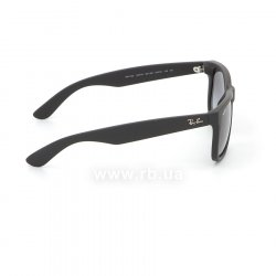 Очки Ray-Ban Justin RB4165-601-8G Black Rubber/APX Gradient Grey 36