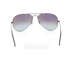 Очки Ray-Ban Aviator Flash Lenses RB3025-002-4J Black | Green Gradient Mirror 24