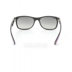 Очки Ray-Ban New Wayfarer Color Mix RB2132-873-32 Cyclamen/Black/Gradient Grey, вид сзади