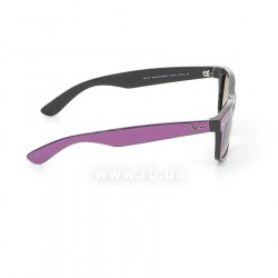 Очки Ray-Ban New Wayfarer Color Mix RB2132-873-32 Cyclamen/Black/Gradient Grey, вид справа