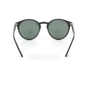 Очки Ray-Ban Highstreet RB2180-601-71 Black / Grey/Green, вид сзади